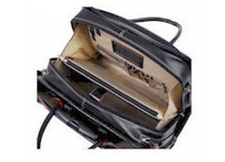 Italian Leather Rolling 17inch Laptop Case4 Jpg
